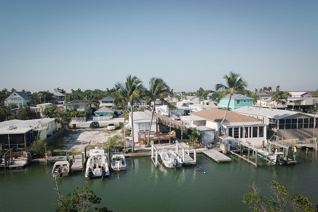 Les maisons de Big Pine Key