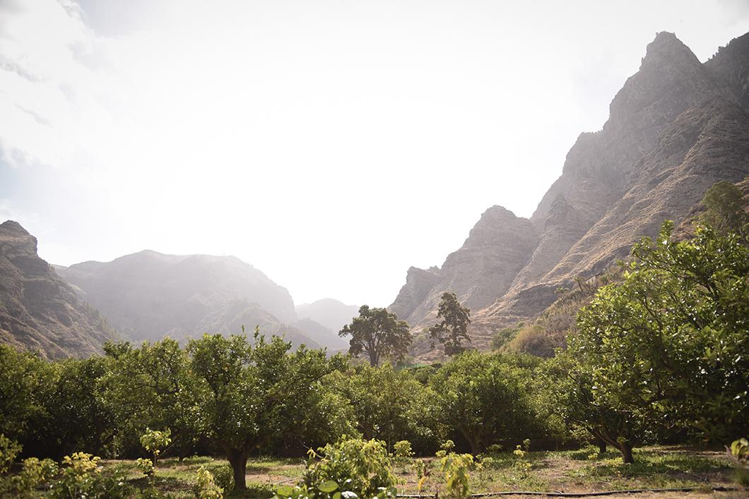Les paysages du nord de l'île de Grande Canarie