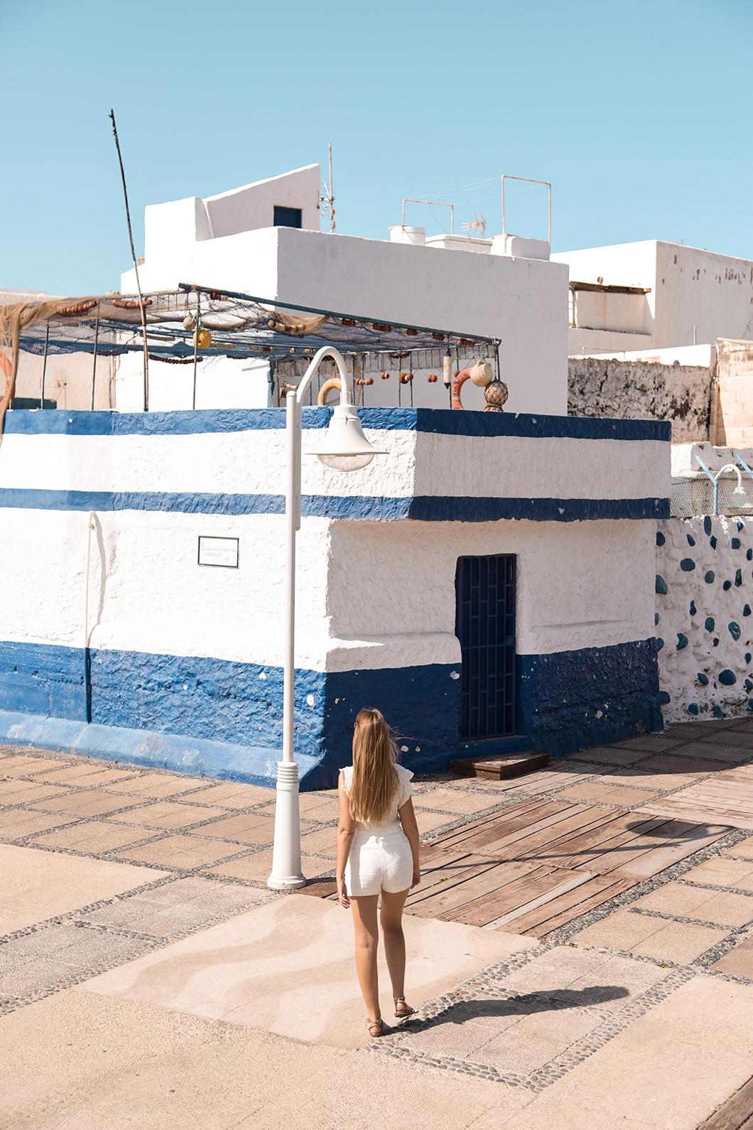 Puerto de las Nieves, petit port au nord de Grande Canarie