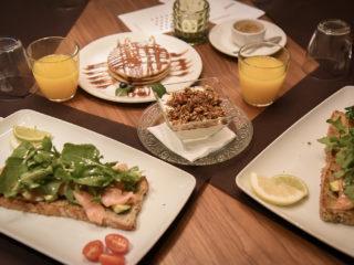 Petit déjeuner parfait du Veintiuno Hotel à Las Palmas de Gran Canaria