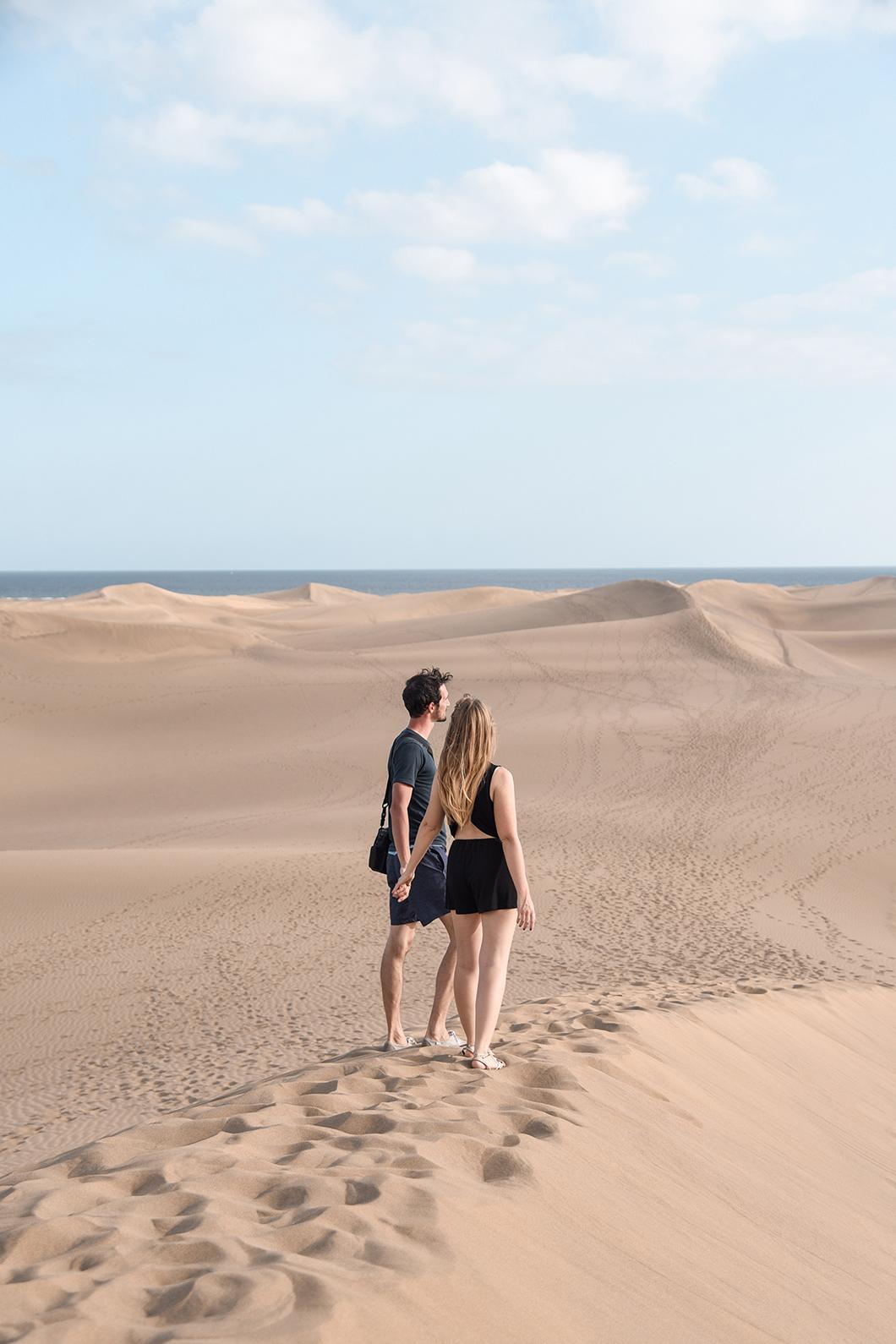 Découvrir les Dunes de Maspalomas au sud de Grande Canarie