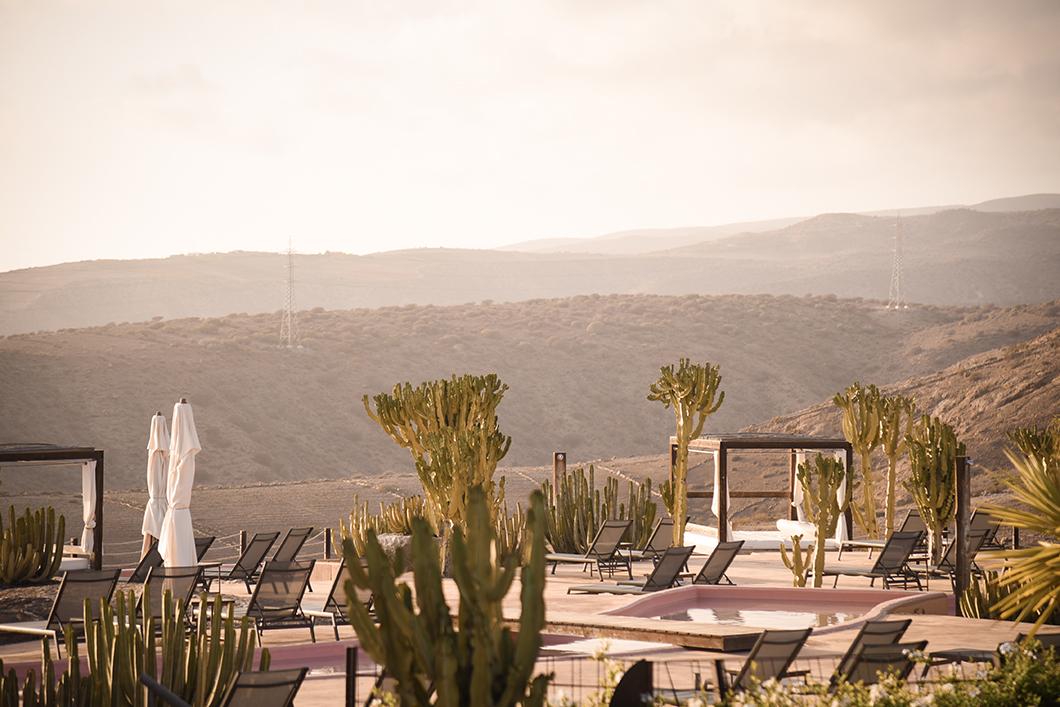 La terrasse du Salobre Hotel Resort & Serenity