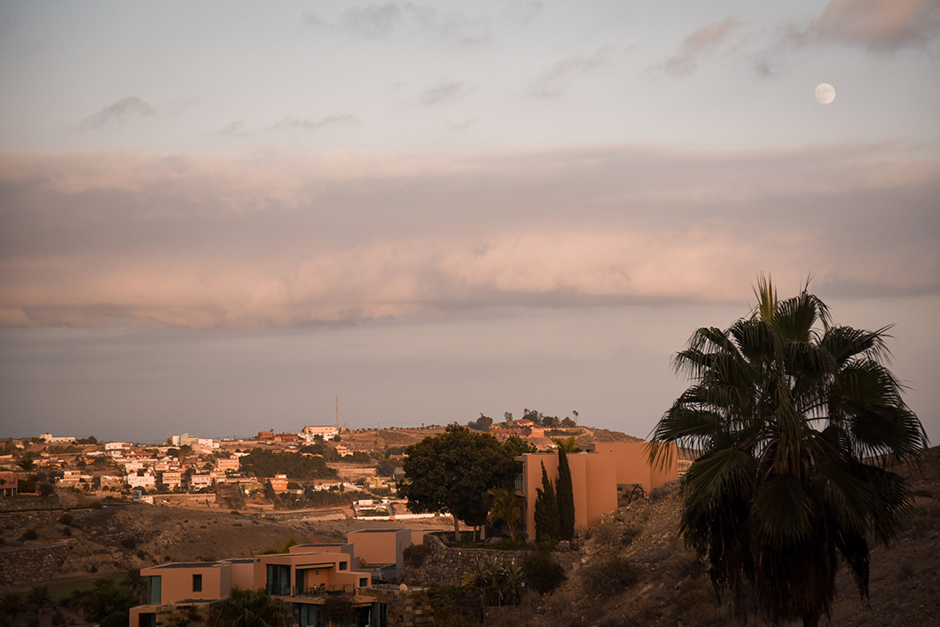 Coucher de soleil à Grande Canarie