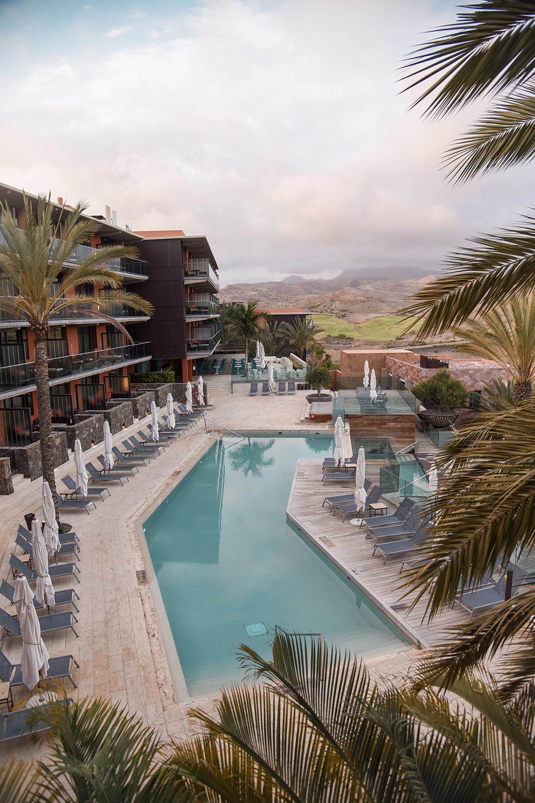 7 piscines de l'hotel Salobre