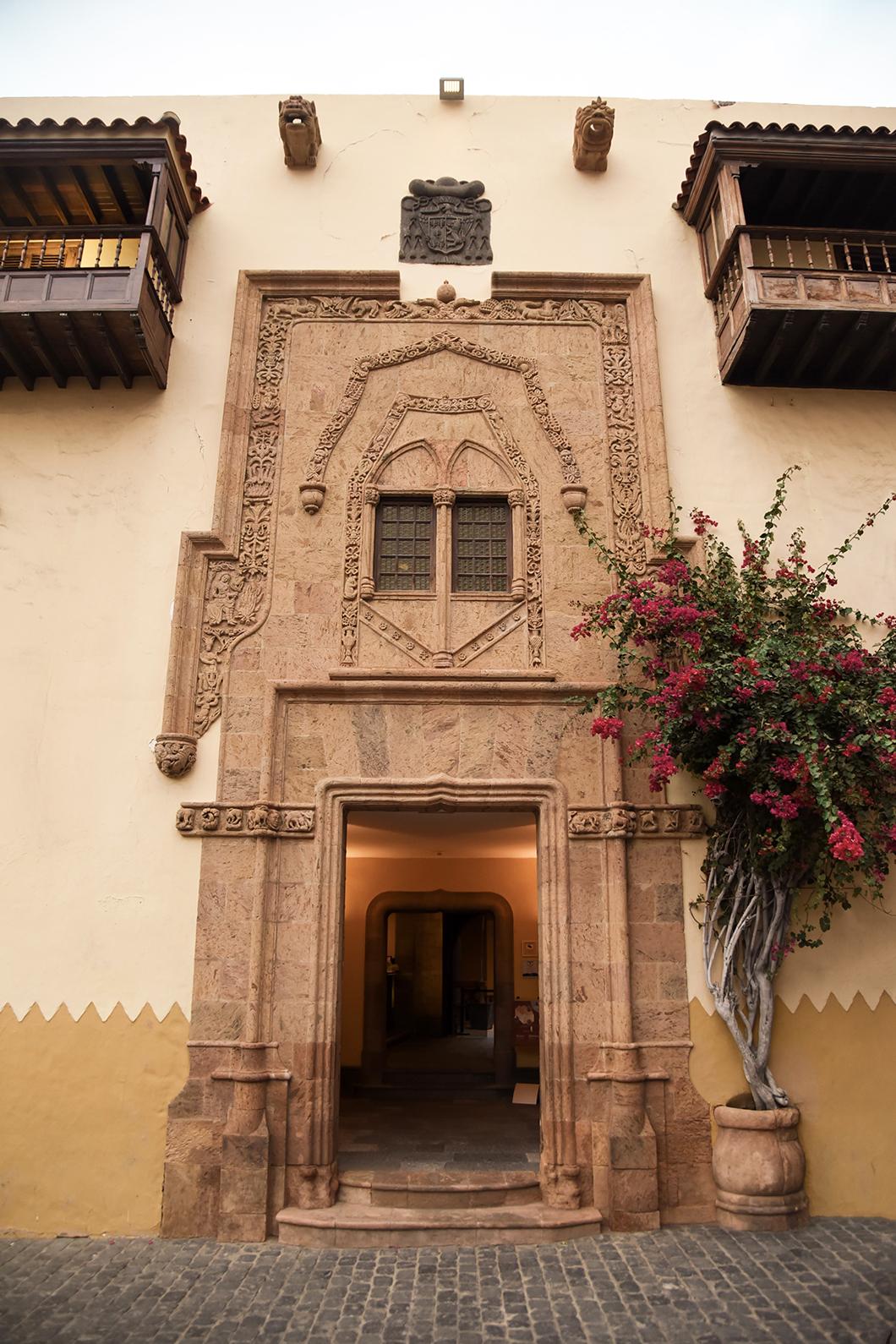 Les belles façades de Découvrir Las Palmas de Gran Canaria