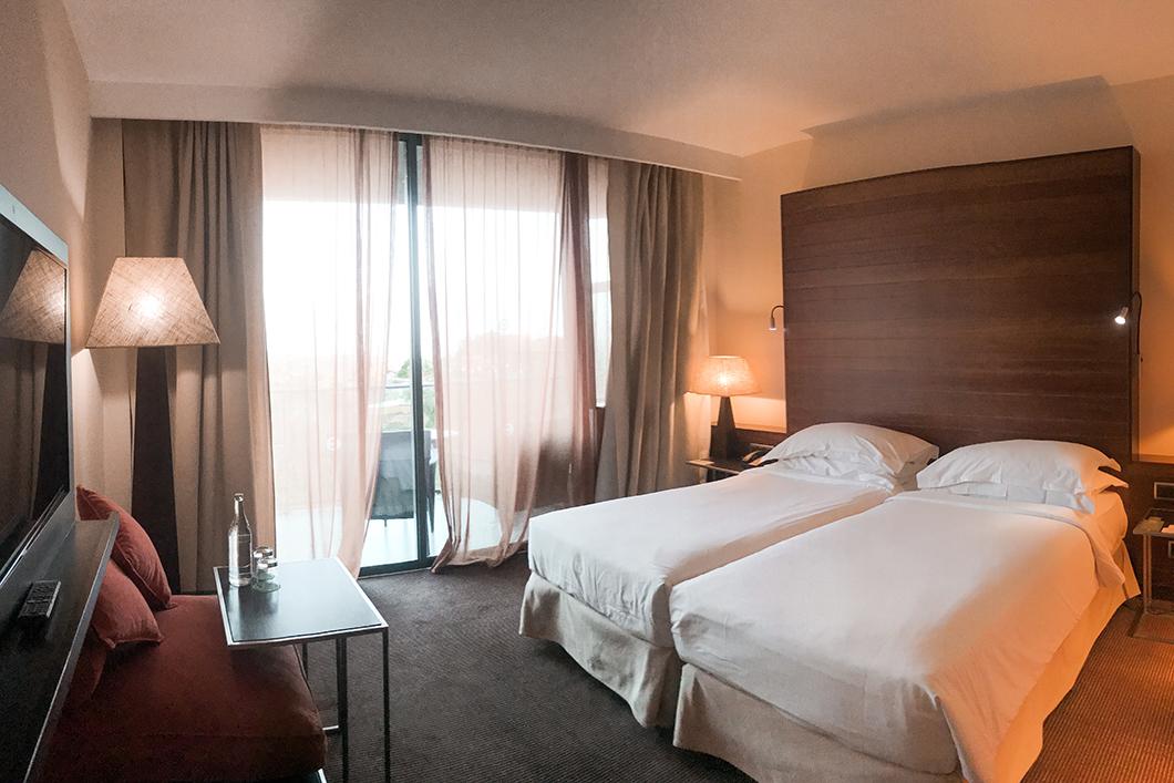 Chambre de l'hôtel Salobre