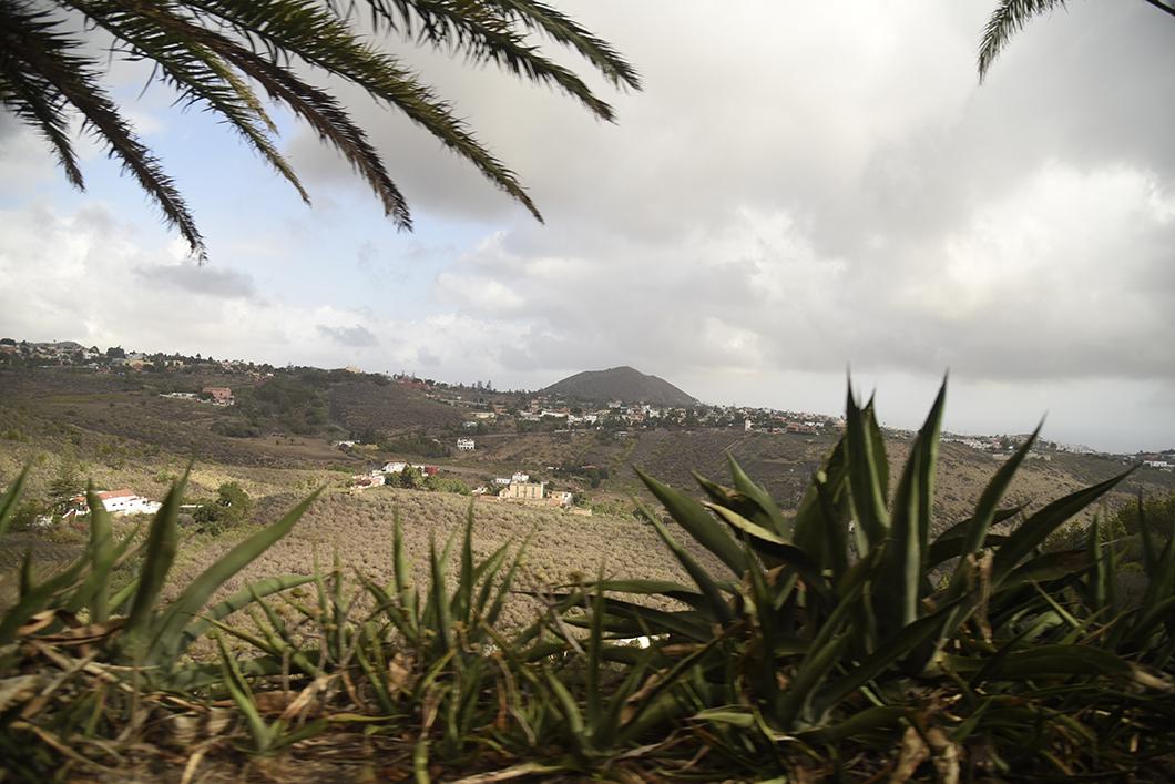Pico de Banama, volcan à Grande Canarie