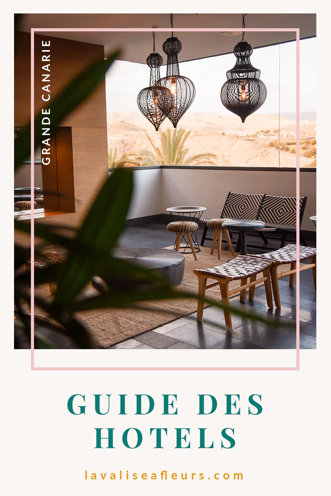 Guide des hotels à Grande Canarie