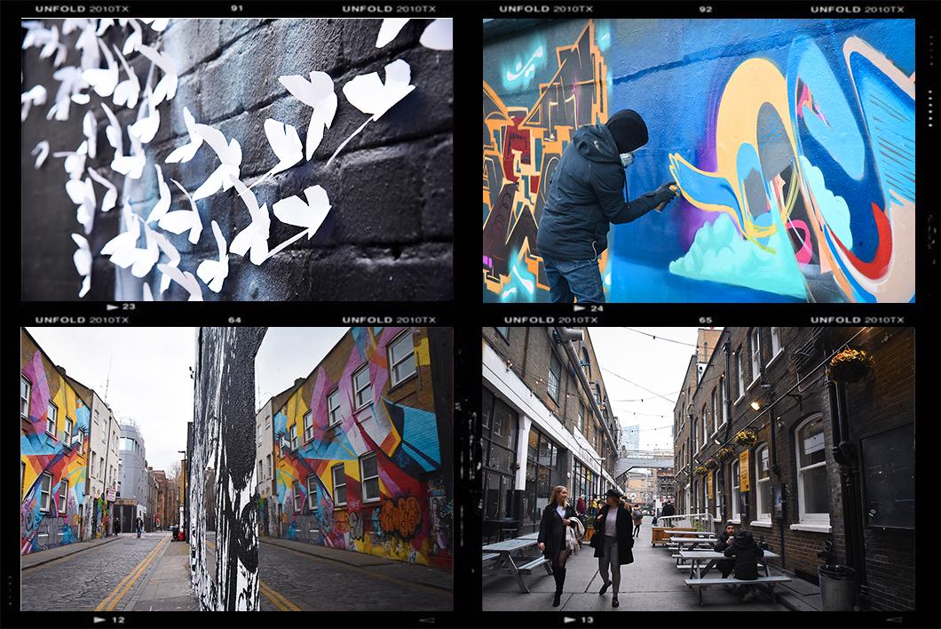 Street art à Bricklane