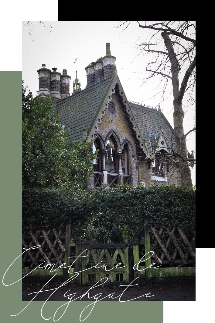 Le Cimetière de Highgate, endroit insolite à Londres