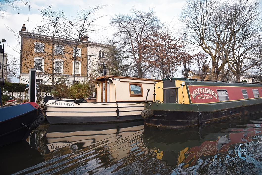 Balade insolite sur la Little Venice de Londres