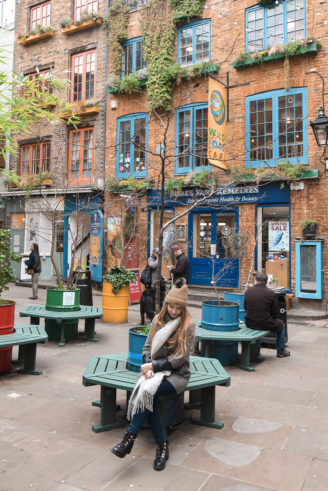 Neal's Yard, 10 endroits insolites à Londres