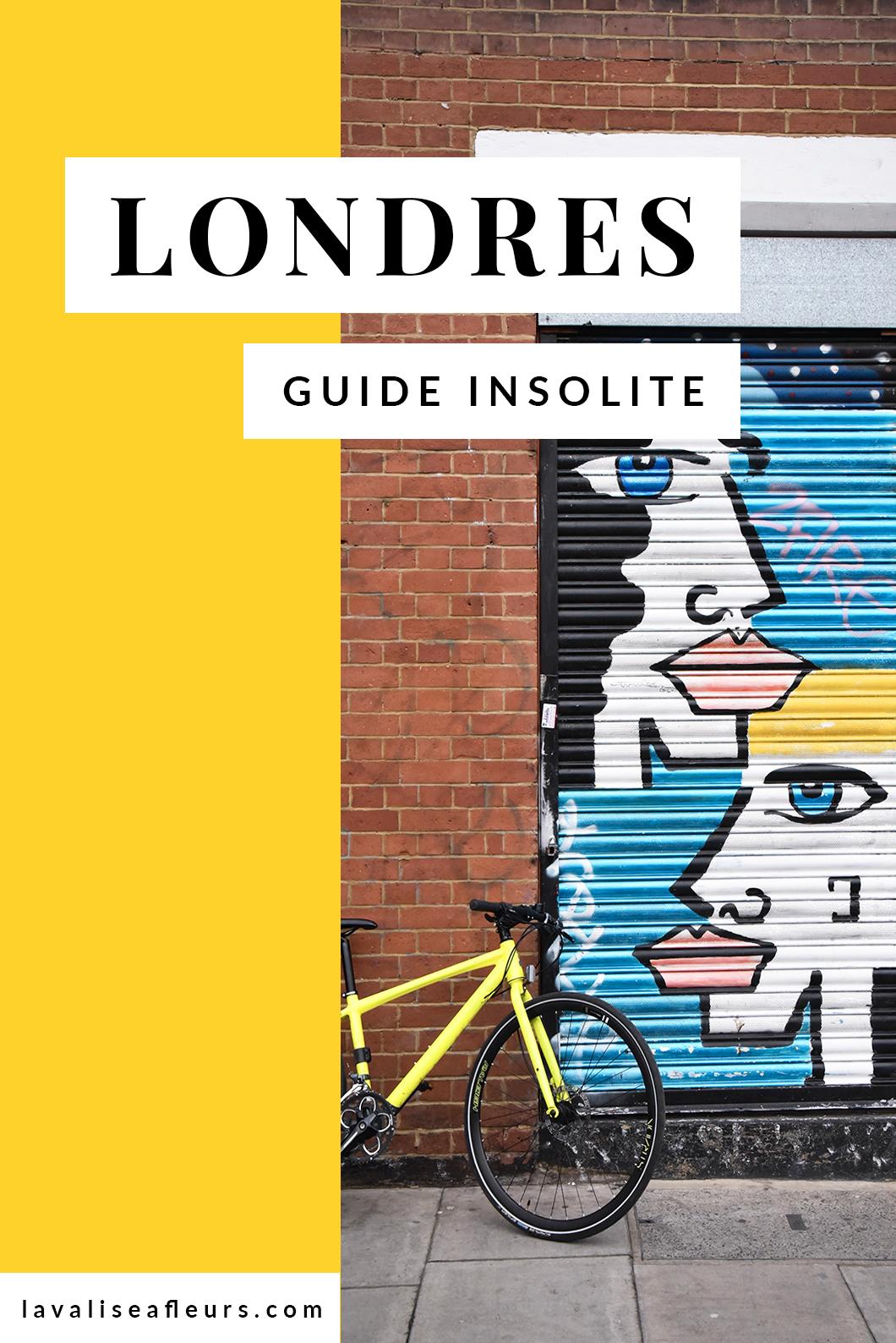 Guide insolite de Londres
