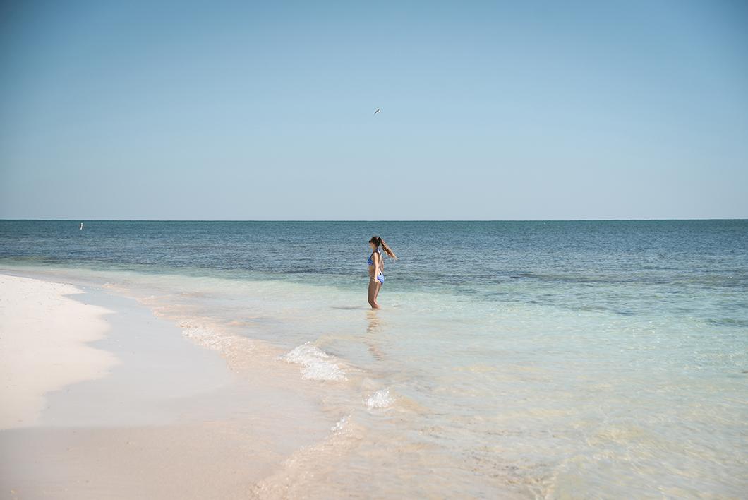La plage de Bahia Honda State Park