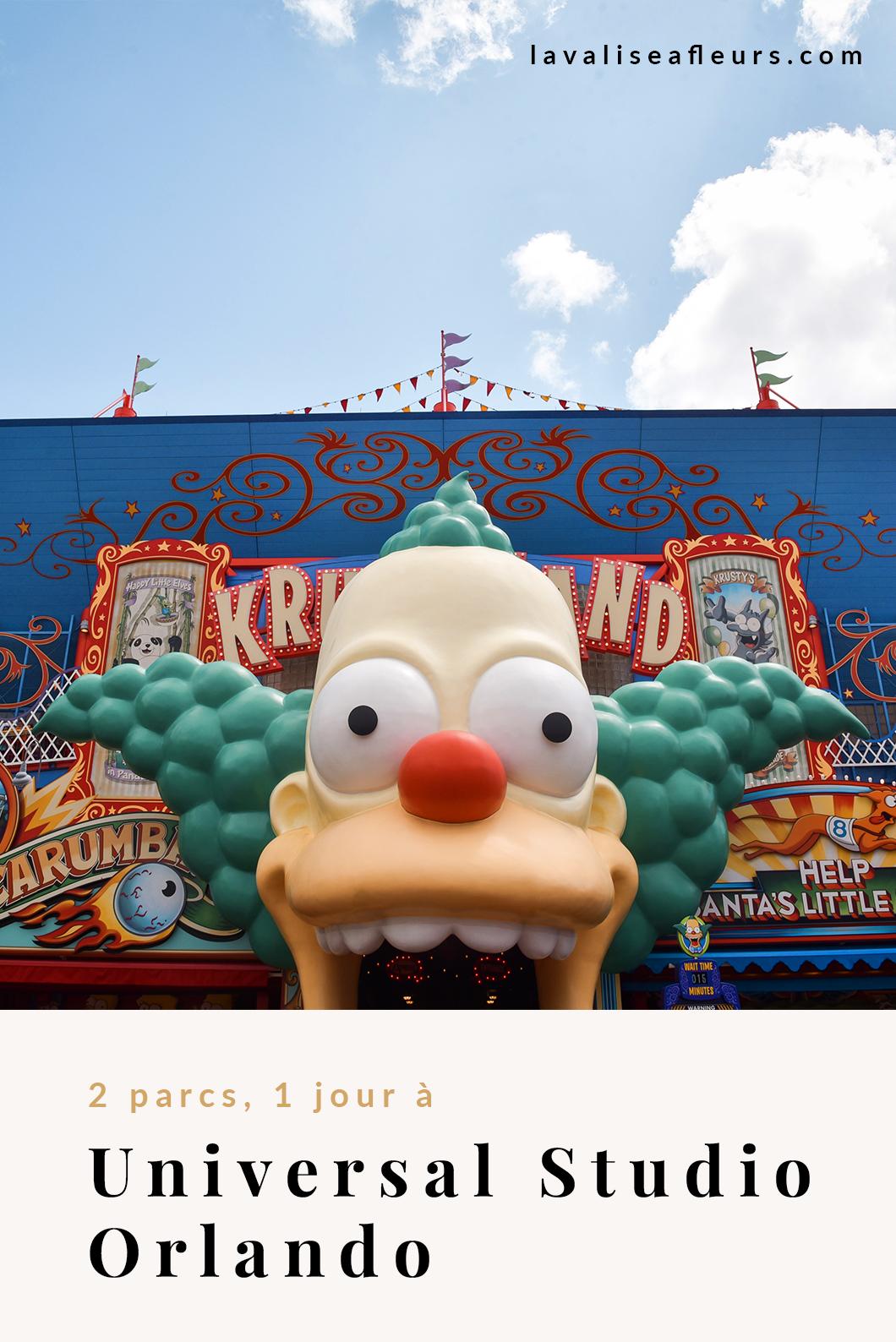2 parcs 1 jour à Universal Orlando