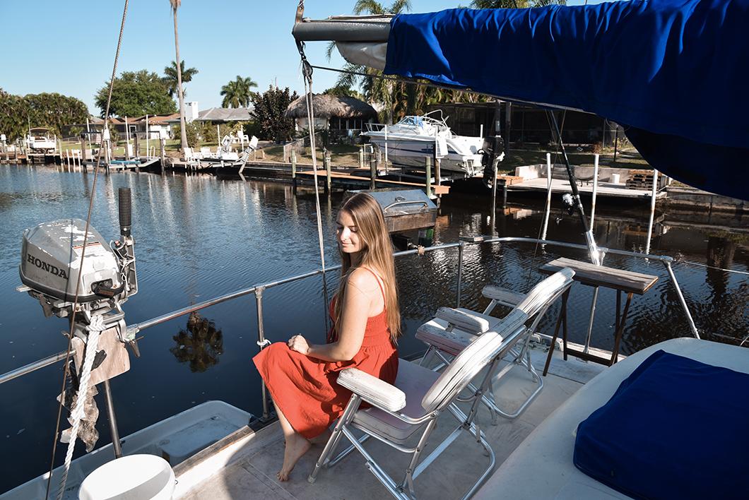 Airbnb pour dormir sur un bateau à Cape Coral