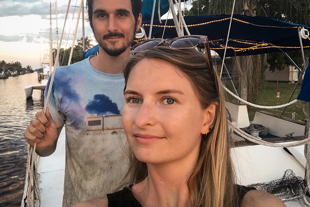 Notre airbnb pour dormir sur un bateau à Cape Coral