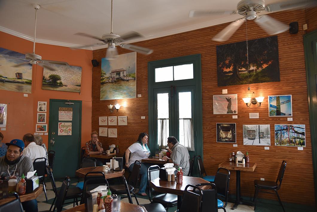 NOLA Cakes, café à la Nouvelle Orléans