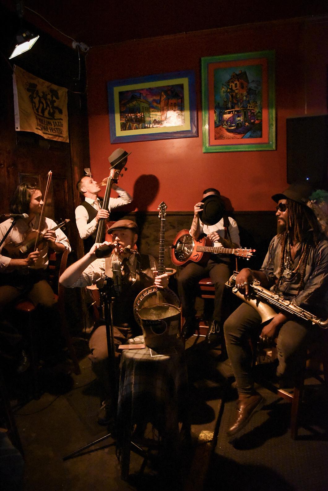 Jazz à Frenchmen street