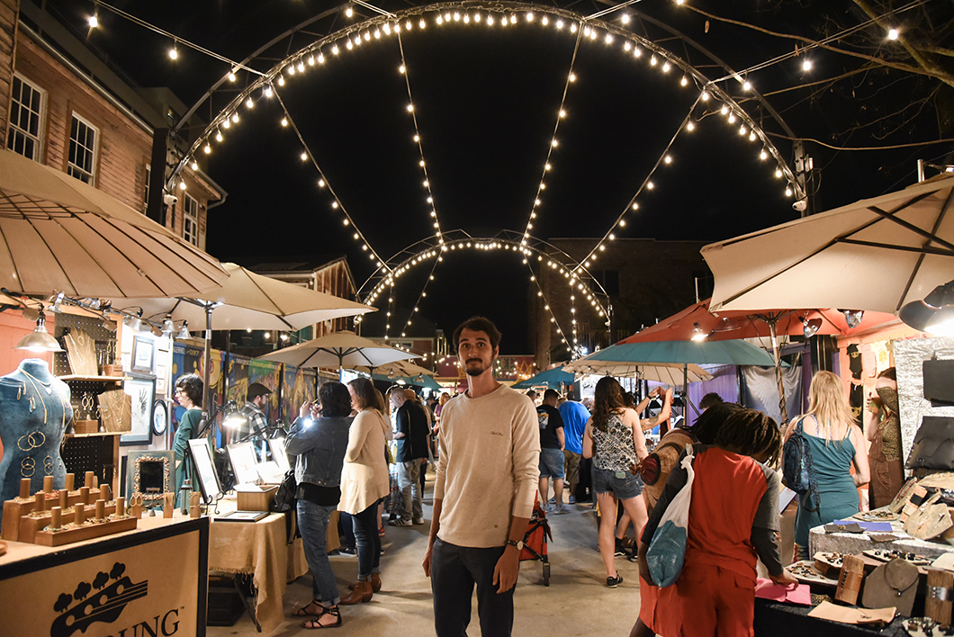 Palace Market à la Nouvelle Orléans