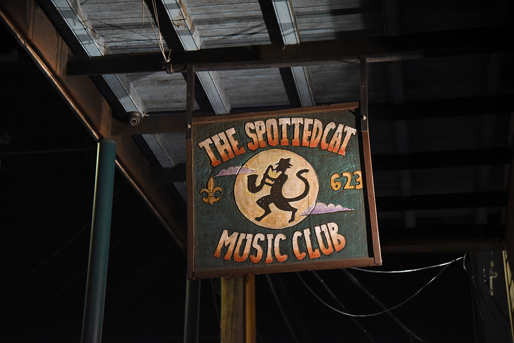 The Spotted Cat jazz club New Orleans