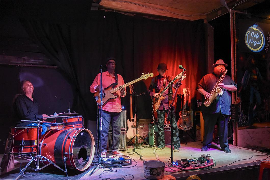 Concert de jazz à la Nouvelle Orléans