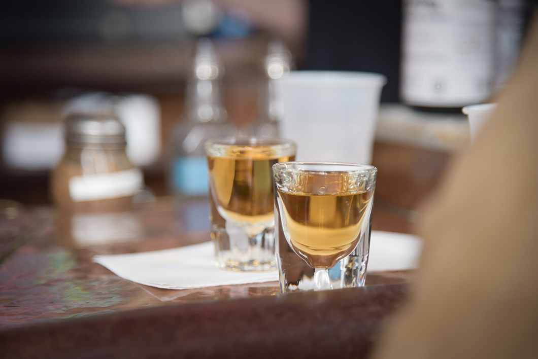 Bar à absinthe à la Old Absinthe House