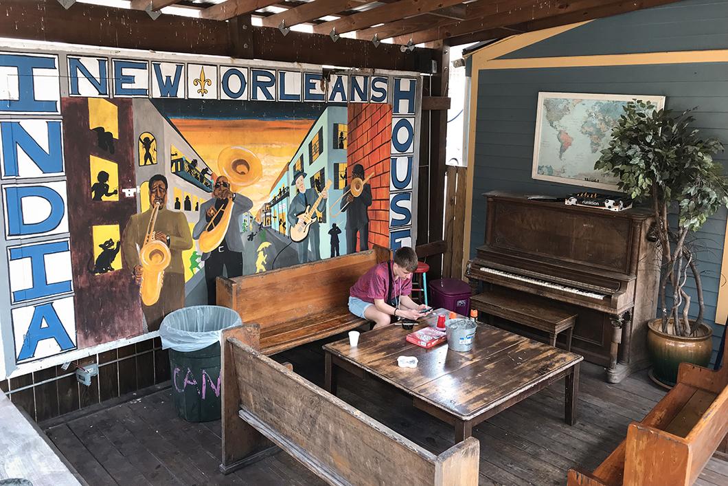 India House Hostel, logement pas cher à la Nouvelle Orléans