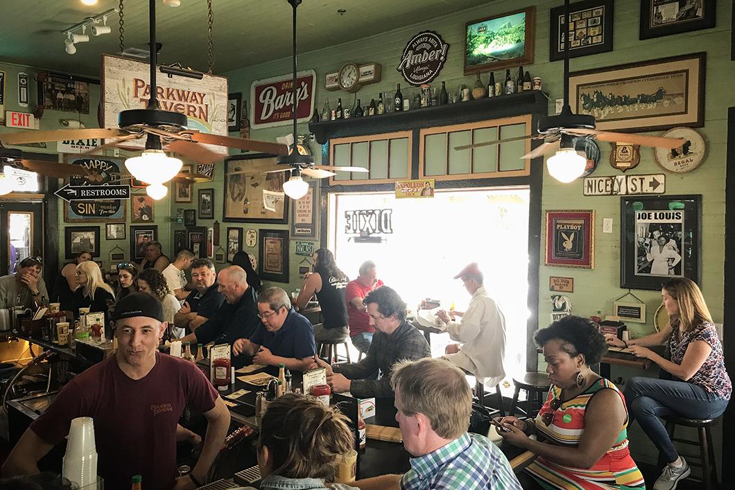 Parkway Bakery and Tavern à la Nouvelle Orléans