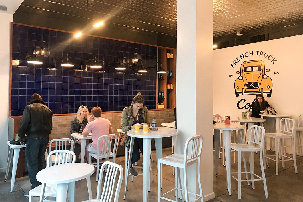 French Truck Coffee, café à la Nouvelle Orléans