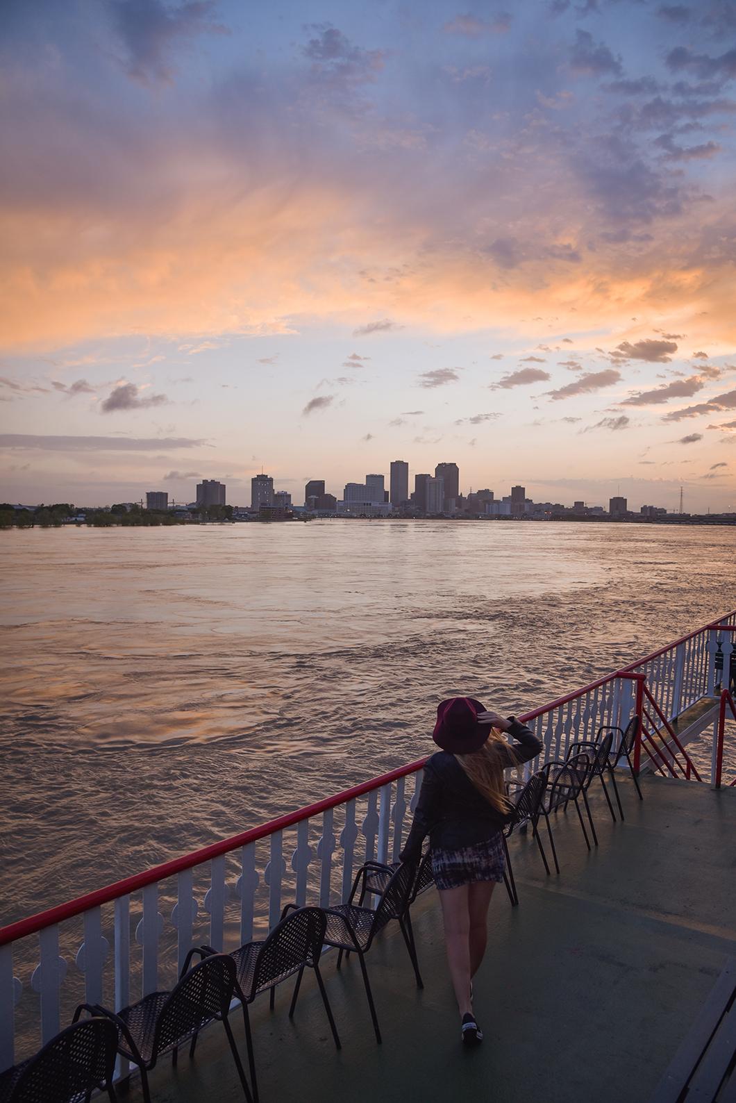 Croisière sur le Mississippi en Louisiane