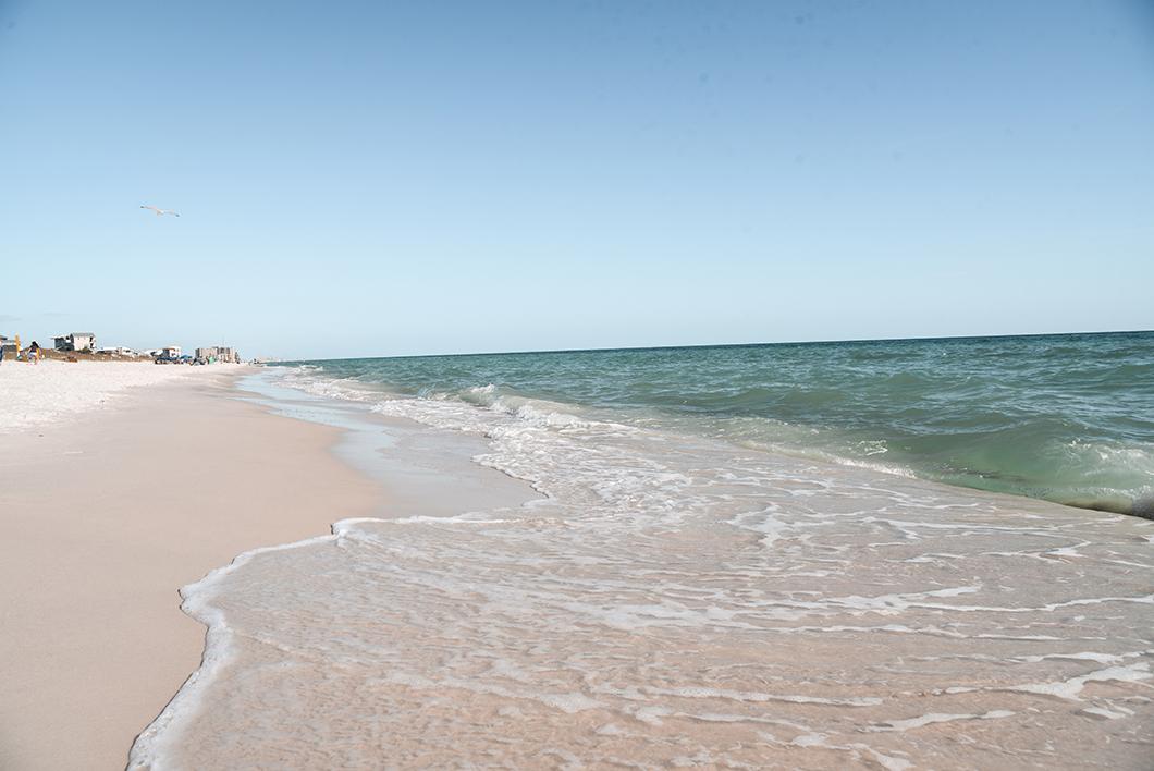 Se baigner à la plage de Panama city