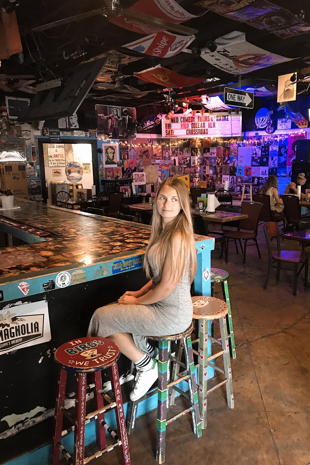 Où manger à Tallahassee ? Les burgers du Bird's Aphrodisiac Oyster Shack