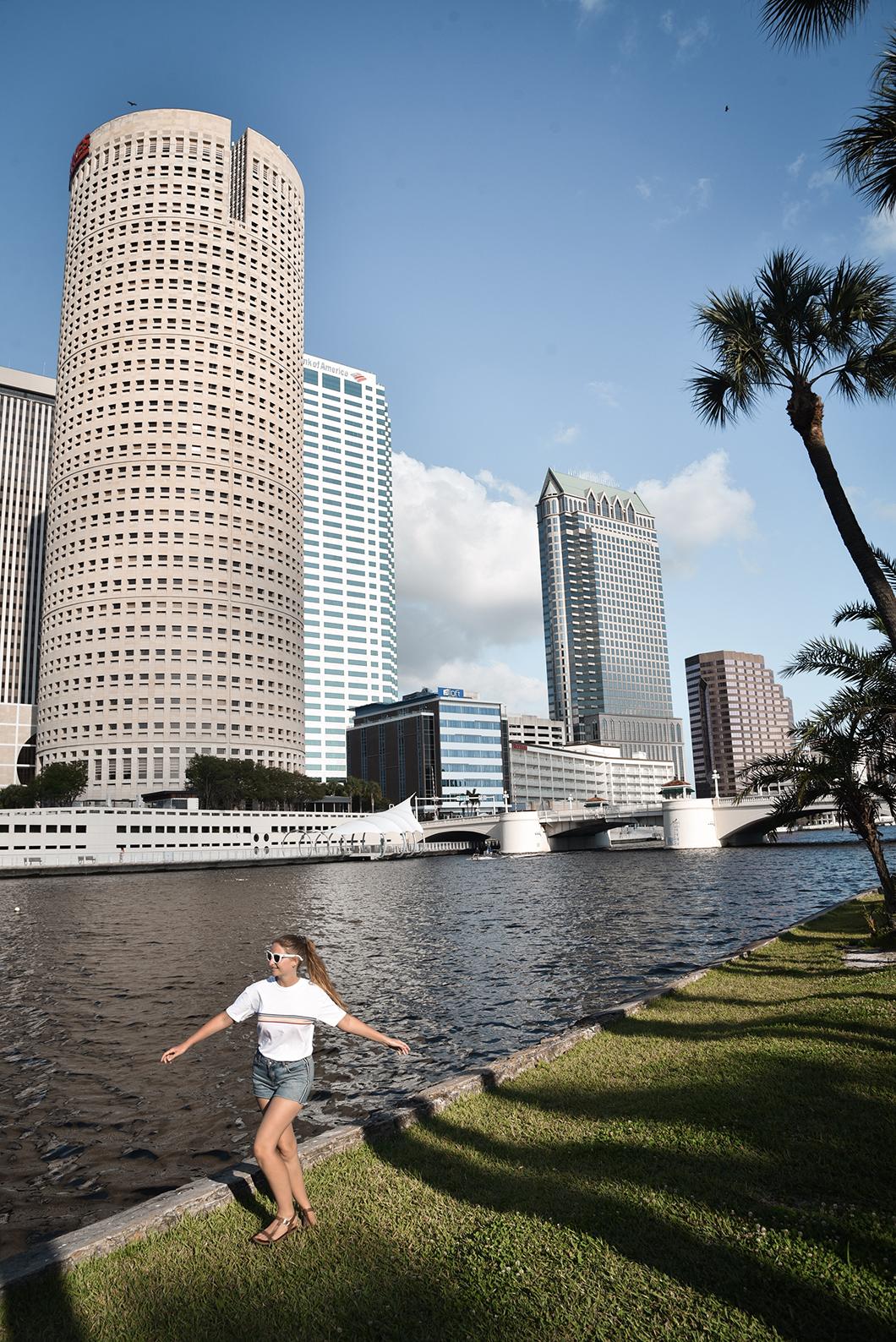 Balade au Curtis Hixon Waterfront Park à Tampa