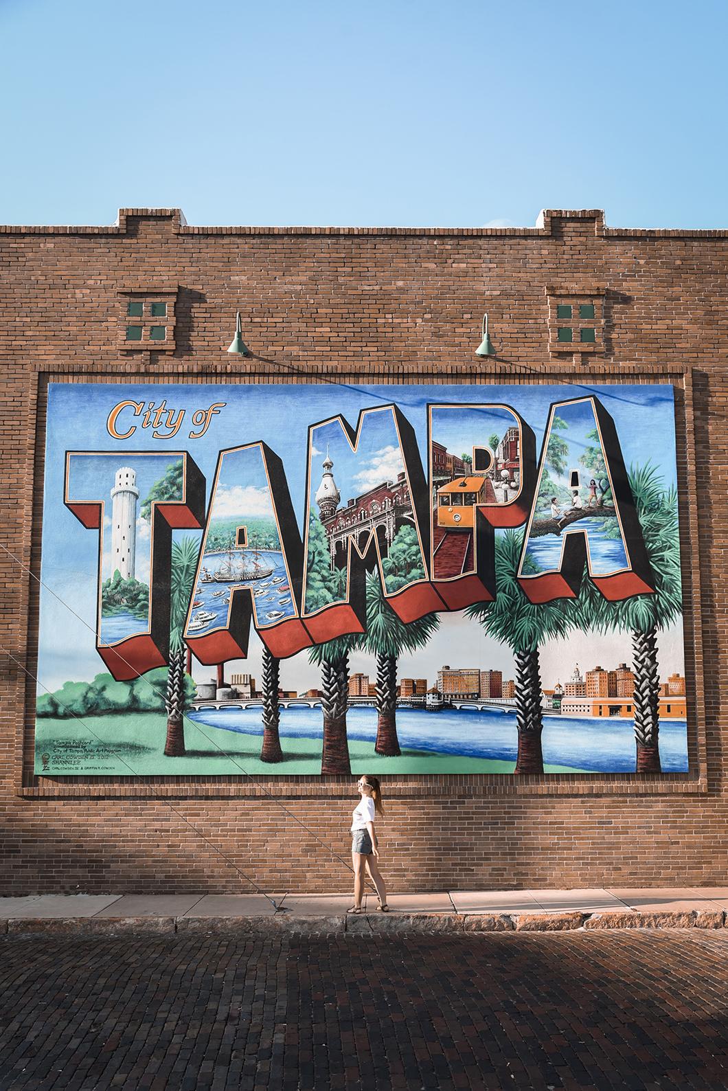 Carte postale de Tampa en Floride