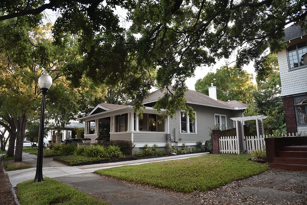 Les maisons de Tampa