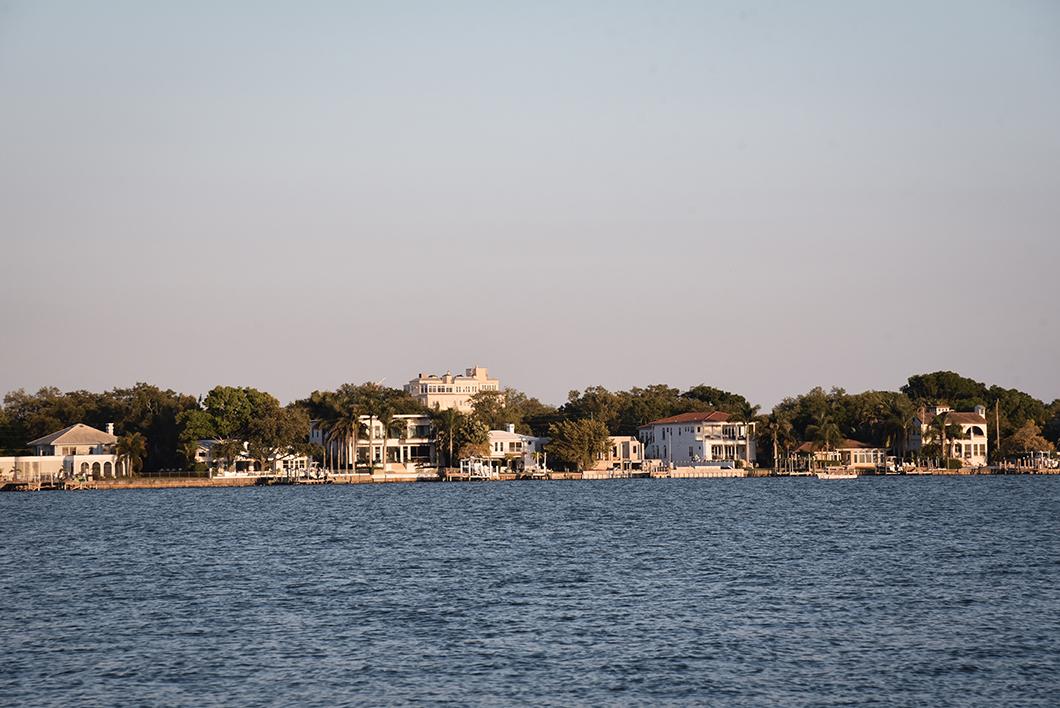 Coucher de soleil à Tampa
