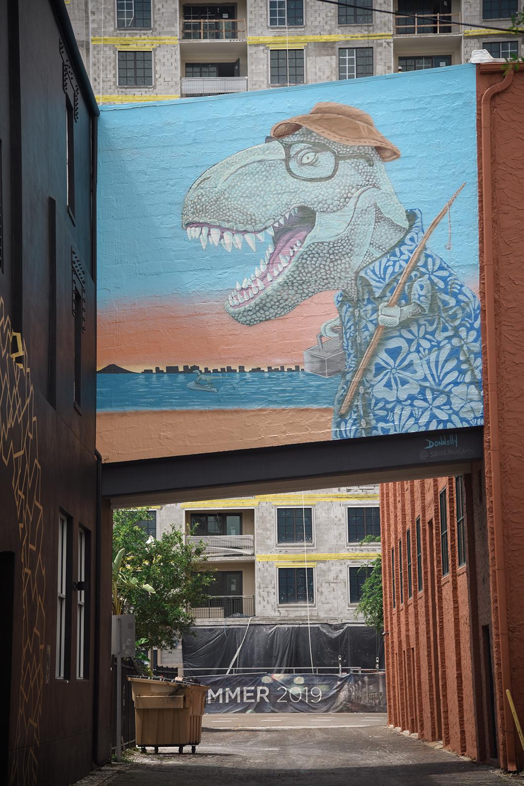 Que faire à Saint Petersburg en Floride ? Street art dans les rues