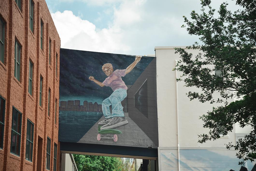 Le street art de Saint Petersburg en Floride