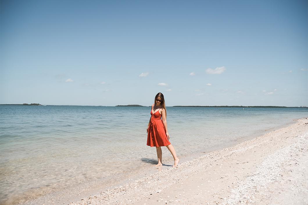 Les plages de Sanibel Island