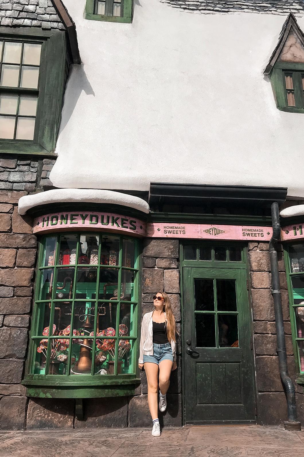 Boutique du Chemin de Traverse à Universal Studios Orlando