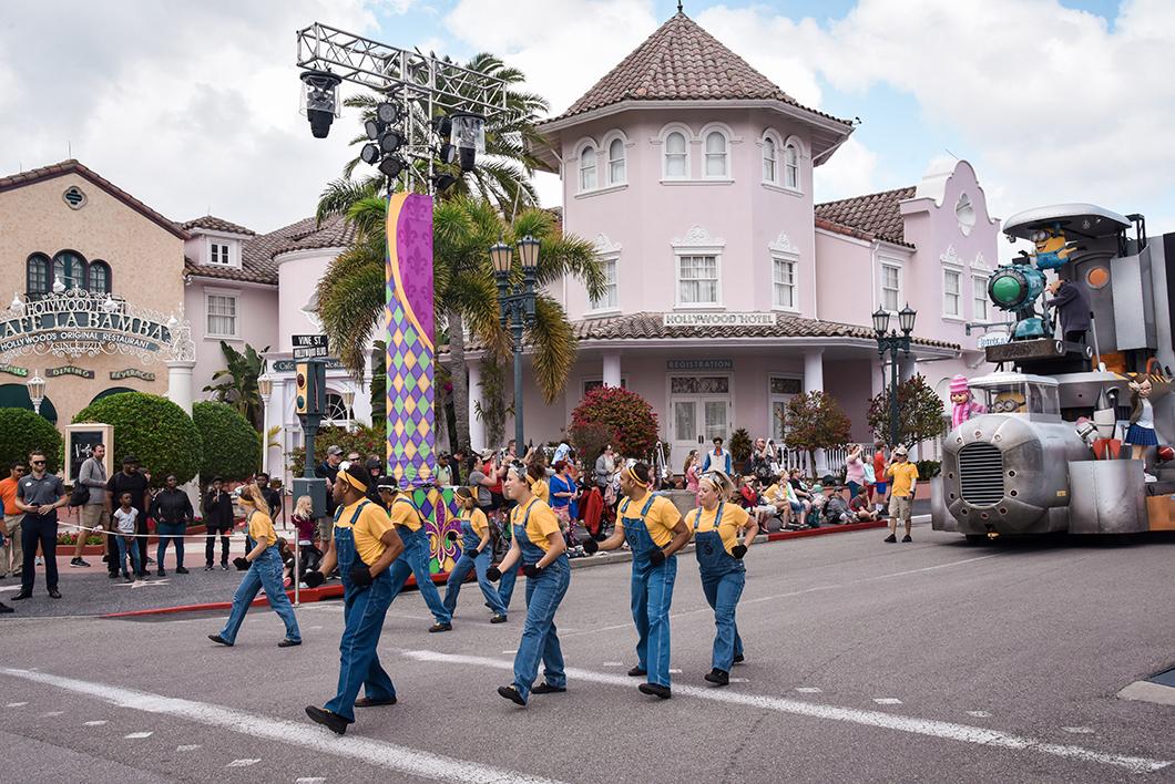 La parade de Universal Studios