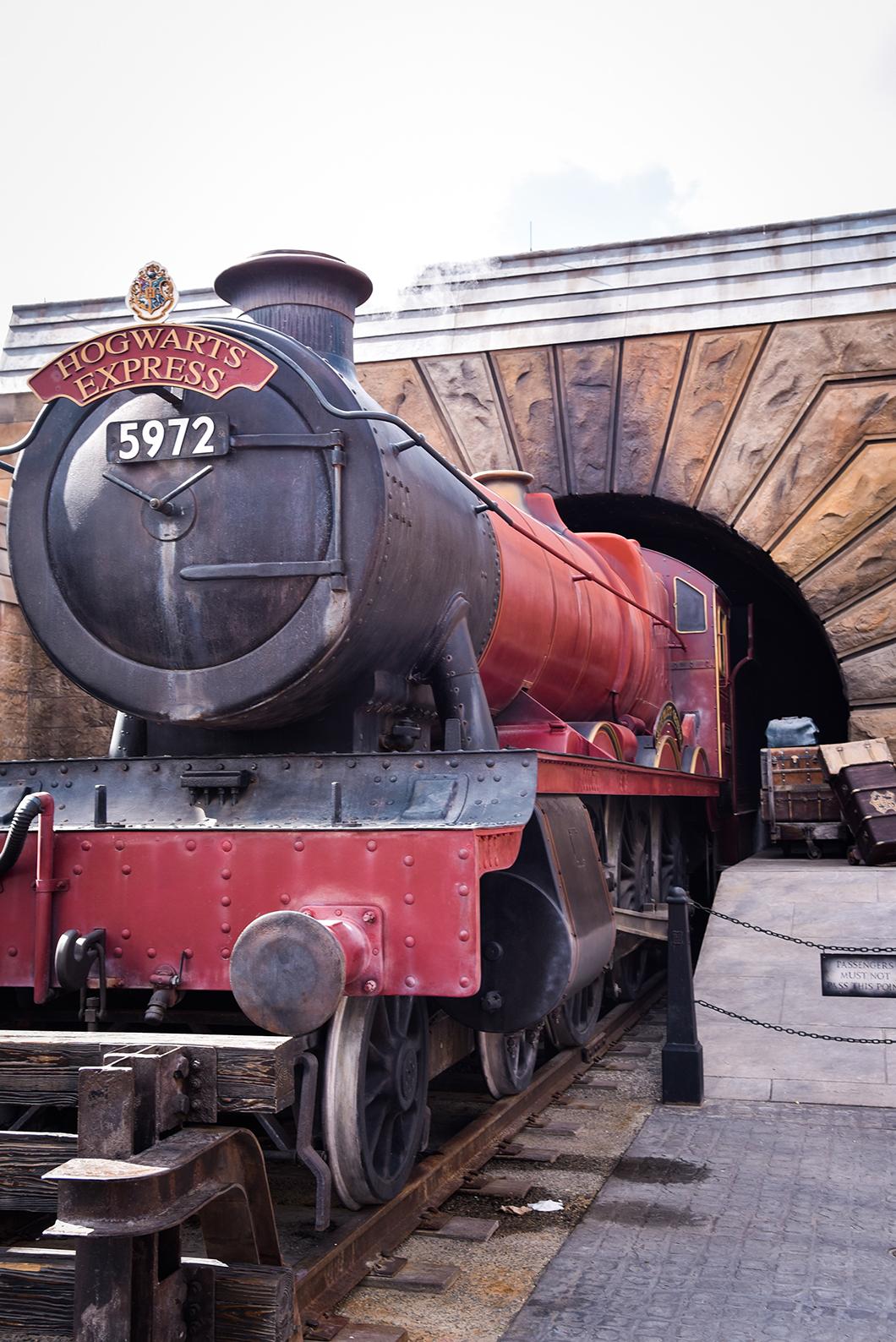 Le poudlard express, Universal Studios Orlando
