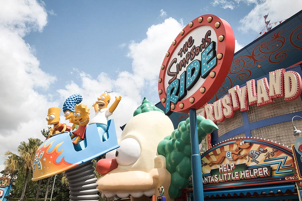 Une journée à Universal Studios Orlando - Visiter Krustyland