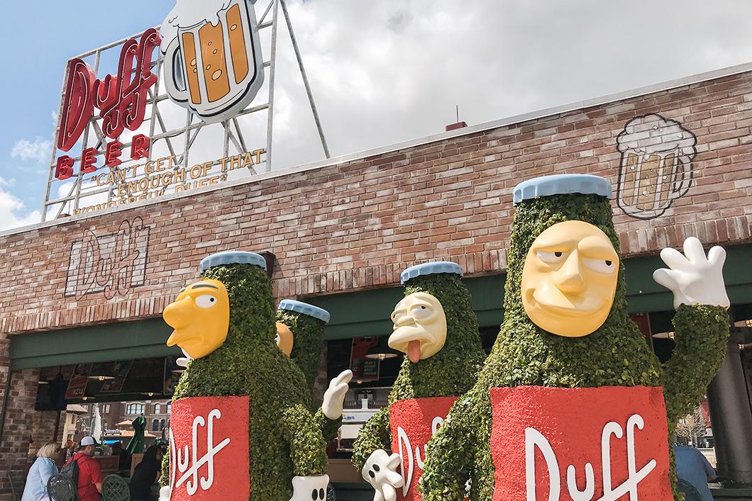Manger à Krustyland à Universal Studios Orlando