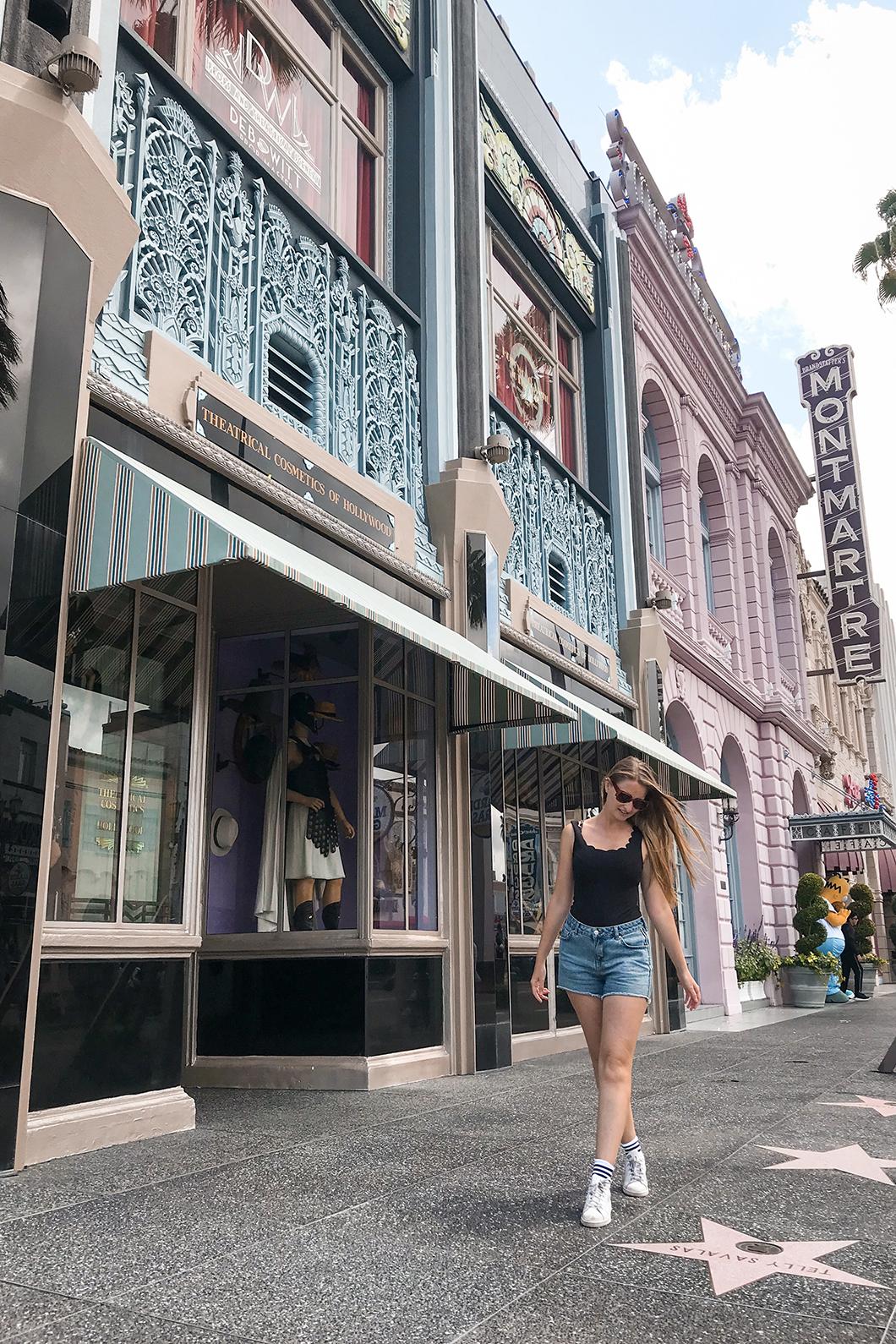 Le Hollywood de Universal Studios