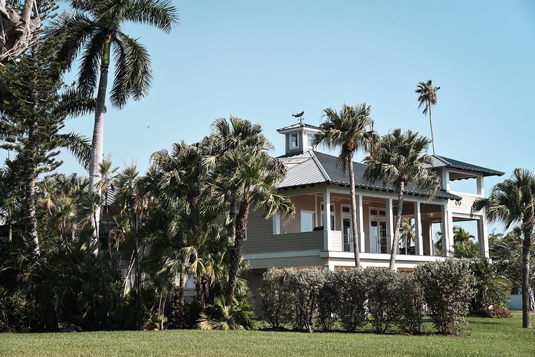 Les maisons d'Everglades City