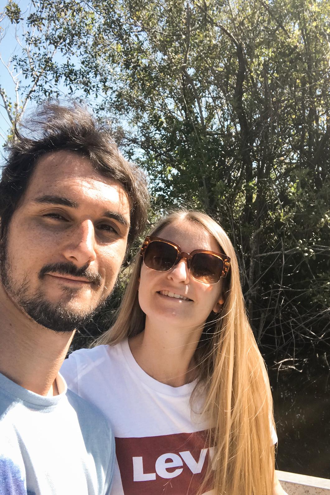 Bateau au Everglades pour voir les animaux