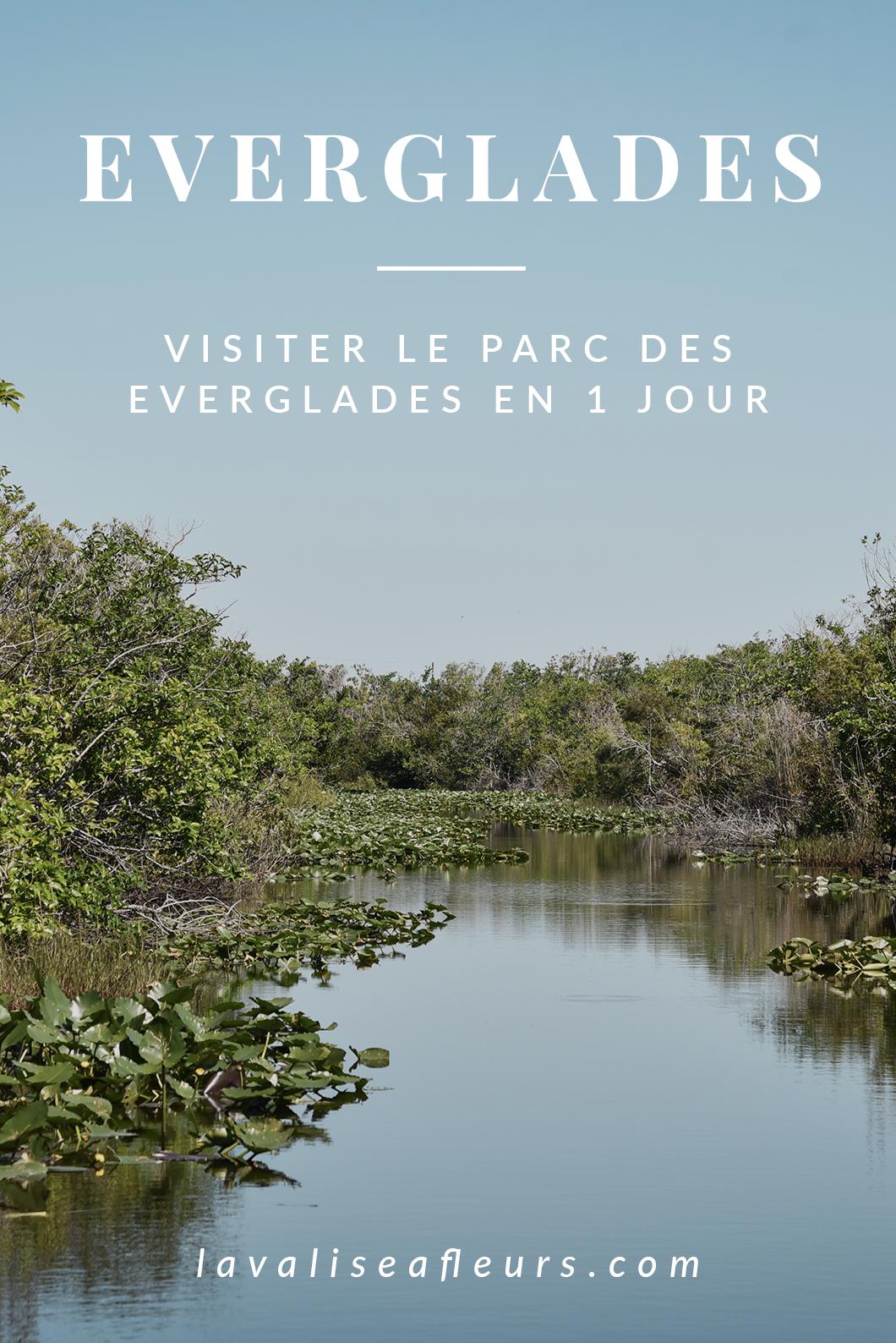 Visiter le parc des Everglades en Floride
