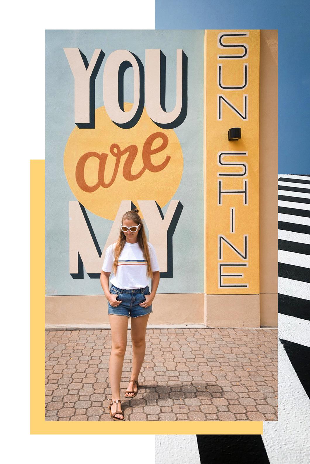 Street art à Saint Petersburg en Floride